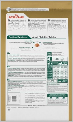 Deciphering Labels For Accurate Dog Food Analysis For Golden Retriever Dogs